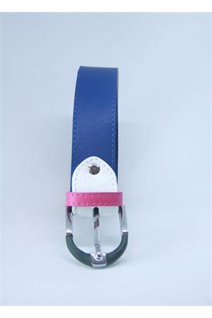 Blue leather belt Colori Di Capri | 22 | BELT CBLU CHIARO