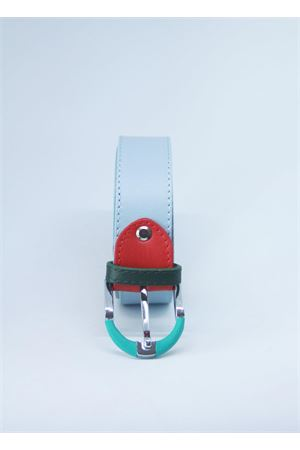 Light blue leather belt Colori Di Capri | 22 | BELT CCELESTE