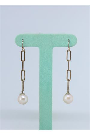Pendant earrings with silver chains and pearls  Estrosia | 48 | ORD 6.5PERLA ARGENTO