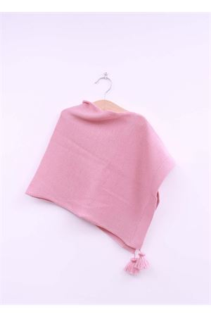 Poncho rosa per neonata La Bottega delle Idee | 52 | PONCHONE55ROSA
