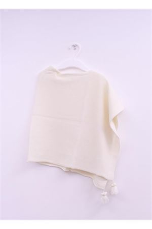 Poncho mantella color panna per neonata La Bottega delle Idee | 52 | PONCHONPANNAPANNA