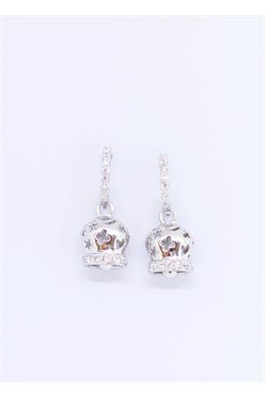Orecchini in argento e zirconi con Campanella di Capri Pierino Jewels | 48 | 4140CAMPANELLA