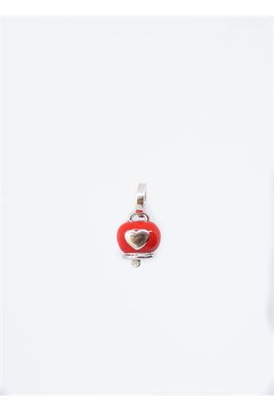 Red Capri bell with heart Pierino Jewels | 5032249 | SMALCUOREROSSO