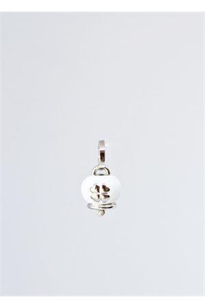 Enamelled Capri Bell qith quadrefoil Pierino Jewels | 5032249 | SMALQUABIANCO