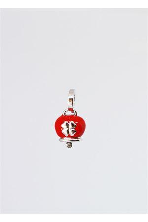 Enamelled Capri Bell qith quadrefoil Pierino Jewels | 5032249 | SMALQUAROSSO