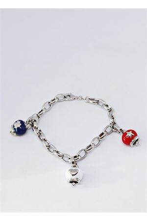Silver bracelet with Capri lucky bells Pierino Jewels | 36 | USA BRBLU