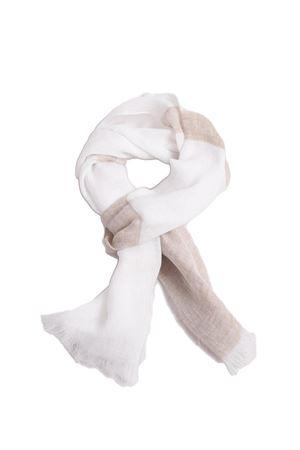 Unisex linen scarf Scacco Matto | 77 | SCIARPE SCACCORIGHE