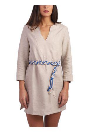 Beige linen tunic Scacco Matto | 5032233 | TUNICA CORTACAPRI BEIGE