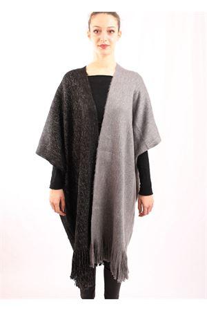 mantella nera in lurex Aram Capri | 3 | LUXNGRIGIOLUREX