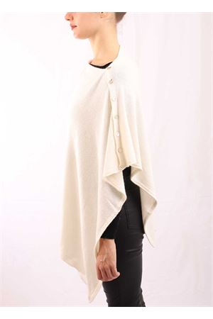 White cape with buttons  Aram Capri | 52 | PHPANNA