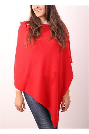 Red cape with buttons  Aram Capri | 52 | PHROSSO