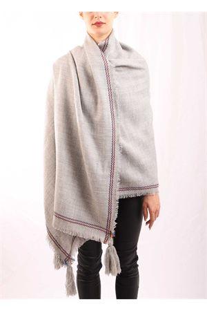 Grey stole  Aram Capri | 1375490853 | SCIALLEFRINGEGRIGIO