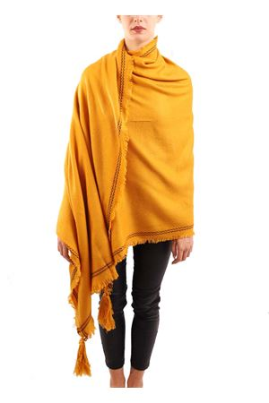 Senape color warm stole  Aram Capri | 1375490853 | SCIALLEFRINGESENAPE