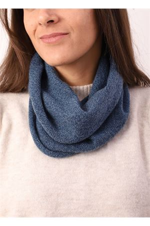 Blue cashmere unisex collar Art Tricot | 77 | COLLOCASHMERE1BLUSCURO