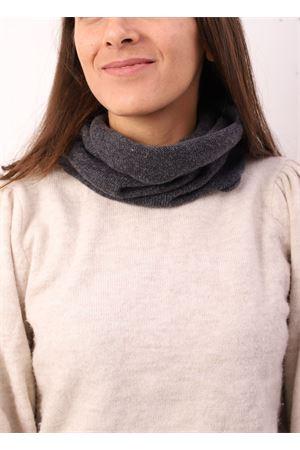 Grey color unisex cashmere collar  Art Tricot | 77 | COLLOCASHMERE1GRIGIO