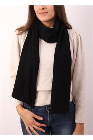 Black cashmere scarf Art Tricot | 77 | SCIARPACASHMERENERO