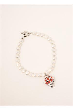bracciale con campanella e perle sintetiche Bell | 36 | BRACCIALEPIETREVARIO