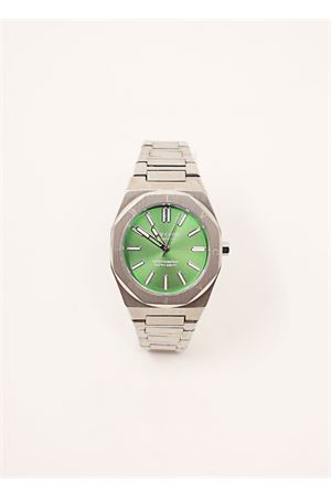 Green and steel watch  Blu Capri | 60 | BC84438VERDE
