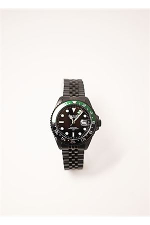 Unisex black and green watch  Blu Capri | 60 | BC91909NEROVERDE