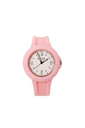 orologio capri in silicone rosa Blu Capri | 60 | BCSIL001ROSA