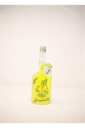 Limoncello with painted glass bottle  Capri Più | 20000064 | AMALFI20DEC200ML