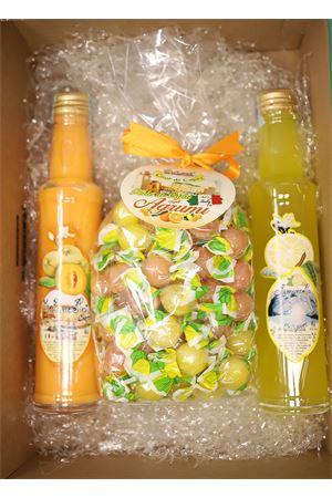 box regalo con limoncello e caramelle Capri Più | 20000064 | BOX13X