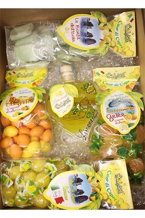 Gift box with local products  Capri Più | 20000064 | BOX15CUOREPERLEGELECROCC