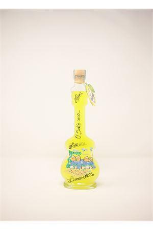 limoncello di capri in bottiglia dipinta Capri Più | 20000064 | CHITARRA20CERAM200ML