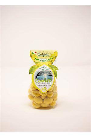Lemon flavored sugared almonds Capri Più | 20000066 | CONFETTI200LIM200GR