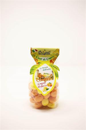 Lemon and orange flavored sugared almonds Capri Più | 20000066 | CONFETTI200MIX200GR