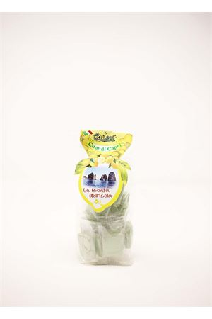 Crunchy chocolate covered with lemon  Capri Più | 20000065 | CROCCANTINI180LIM180GR