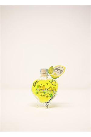 Handpainted heart-shaped bottle of Limoncello di Capri  Capri Più | 20000064 | CUORE10PAES100ML