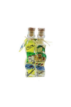 duo di liquore limoncello e crema Capri Più | 20000064 | DUO04+04PAES0,04X2