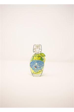 miniature di liquore limoncello con bottiglia dipinta Capri Più | 20000064 | LIQ04DEC0,4
