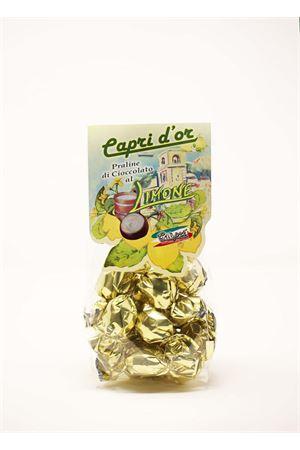 praline di cioccolata ripiene di crema di limone Capri Più | 20000065 | PRALINE200LIM200GR