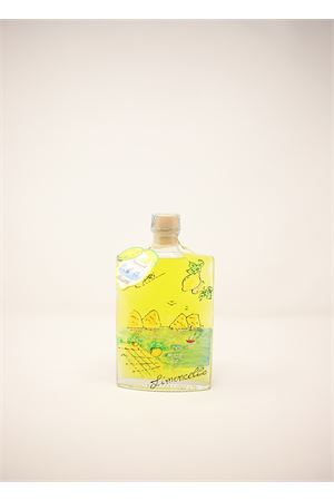 bottiglia di limoncello di capri da regalo Capri Più | 20000064 | QUADRA20PAES200ML