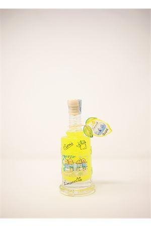 Limoncello in painted bottle Capri Più | 20000064 | TORCHIO20CERAM200ML
