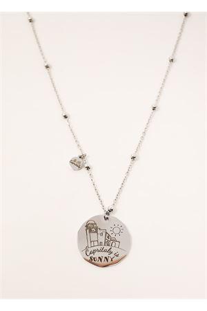 Necklace with Piazzetta di Capri engraving Capritaly gioielli | 35 | COLLANAINCISIONEFARAGLIONI