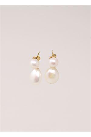 Pearl earrings  Don Alfonso Gioielli | 48 | AD256BIANCO