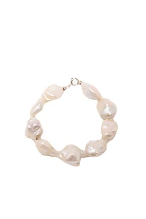 Pearl bracelet with gold closure  Don Alfonso Gioielli | 36 | AD721BIANCO
