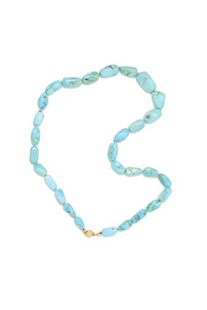 Natural turquoise stones necklace  Don Alfonso Gioielli | 35 | AE803TURCHESE