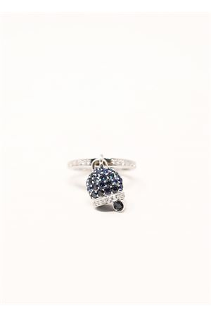 Gold Capri bell ring with diamonds Don Alfonso Gioielli | 5032250 | AG035BLU
