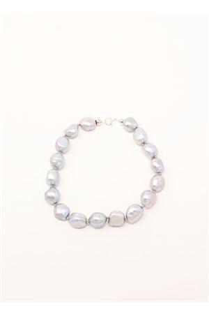 bracciale con perle grigie Don Alfonso Gioielli | 36 | AL265GRIGIO