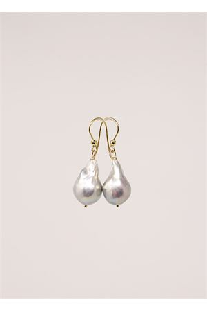 Gray baroque pearl earrings  Don Alfonso Gioielli | 48 | AL629GRIGIO
