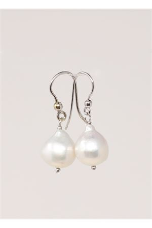 Pearls earrings in white gold  Don Alfonso Gioielli | 48 | AL630BIANCO