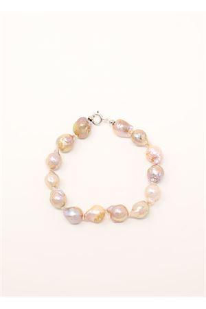 bracciale con perle barocche multicolore Don Alfonso Gioielli | 36 | AL636MULTI