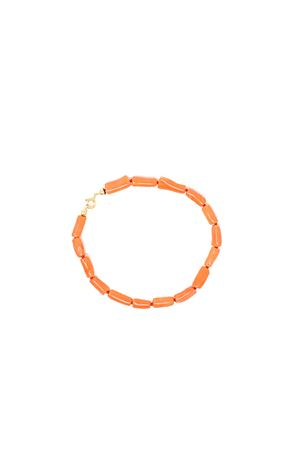 bracciale in tubetti di corallo rosso autentico Don Alfonso Gioielli | 36 | AL650ROSSO
