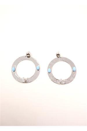 Hoop earrings with faraglioni  Faraglioni | 48 | OR002FAARGENTO
