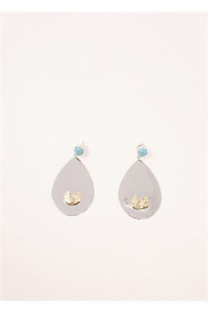 Drop earrings  Faraglioni | 48 | OR004FAOROBIANCO