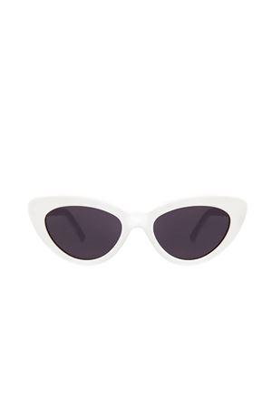 occhiali da sole modello cat eye bianchi Illesteva | 53 | PAMELAWHITE